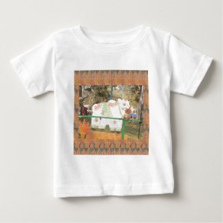 India art crafts show holy cow statue new delhi baby T-Shirt