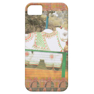 India art crafts show holy cow statue new delhi iPhone SE/5/5s case