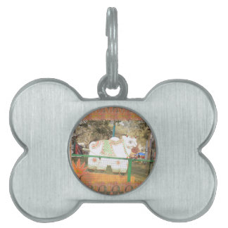 India art crafts show holy cow statue new delhi pet name tag