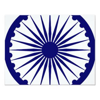 India Ashoka Chakra Card
