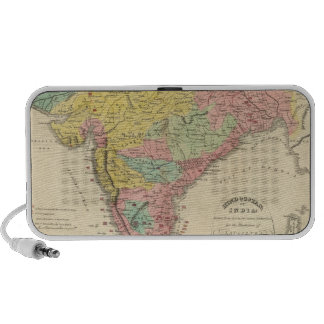 India Battles and Seiges Chonology Map iPod Speakers