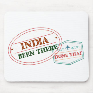 India Been There Done That Mouse Pad