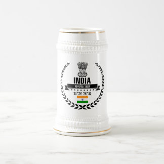 India Beer Stein