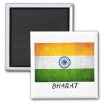 "India ""BHARAT"" Fridge Magnets"