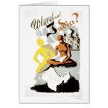 India Buddha Gandhi 1941 WPA Card