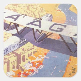 India by Imperial Airways Sticker