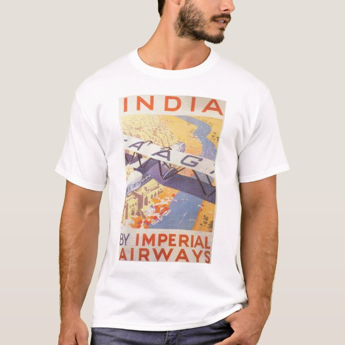 India by Imperial Airways T-Shirt
