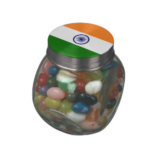 India Jelly Belly Candy Jar