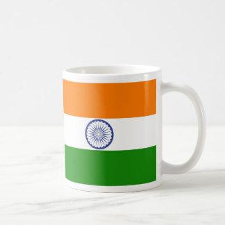 India Classic White Coffee Mug
