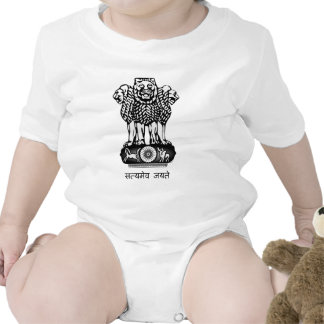 India coat of arms t-shirt