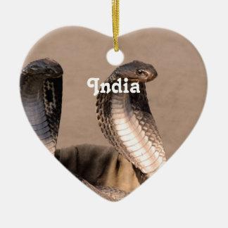 India Cobra Christmas Ornament