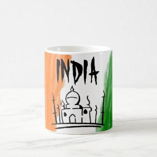 INDIA COFFEE MUG