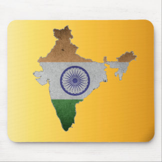 india country flag mouse pad