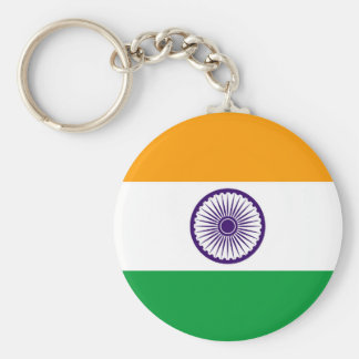 India country long flag nation symbol republic keychain