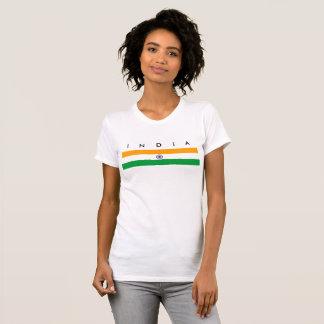 India country long flag nation symbol republic T-Shirt