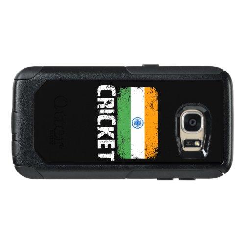 India Cricket, India Team Cricket, India Flag OtterBox Samsung Galaxy S7 Case