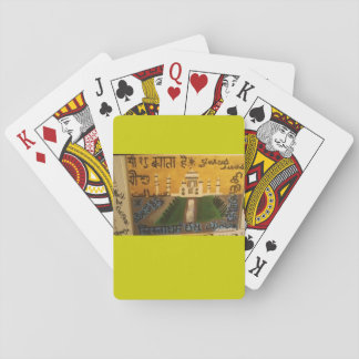 India cultures christian art playing card poker cards
