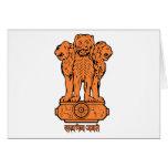 India Emblem Card