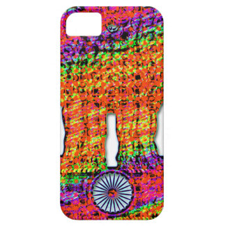 India Emblem Psychedelic iPhone SE/5/5s Case