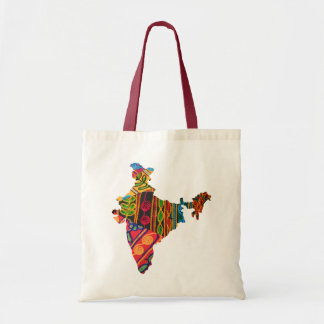 India Embroidery Mp Tote Bag