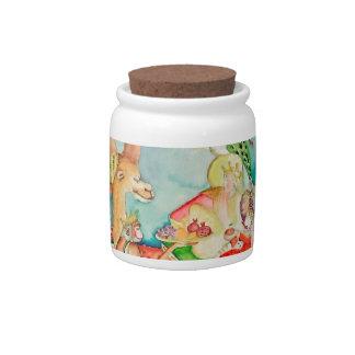 India, fairy tale story, princess candy jar