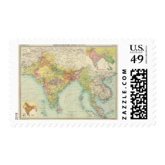 India & Farther India political Postage