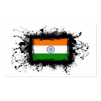 India Flag Business Cards