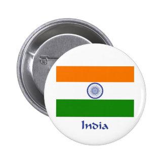 India Flag Button