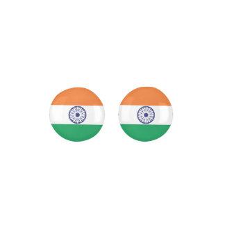 INDIA Flag Earrings