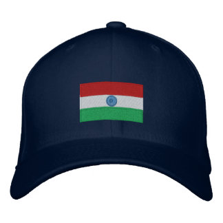 India flag embroidered flexfit hat