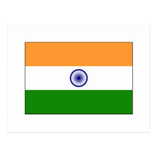 India FLAG International Post Cards