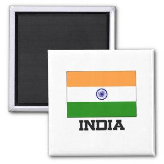 India Flag Magnet
