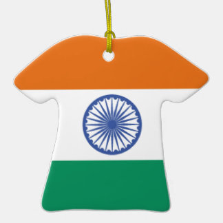 India Flag Christmas Ornaments