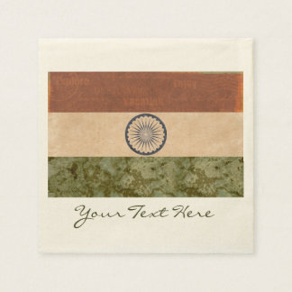 India Flag Party Napkins