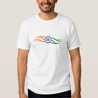 India : Flag Pattern T Shirt