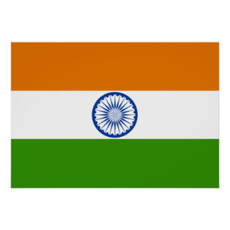 India Flag Poster