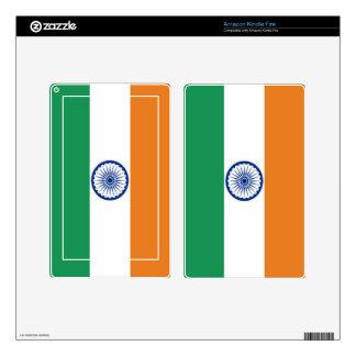 India Flag Kindle Fire Skins