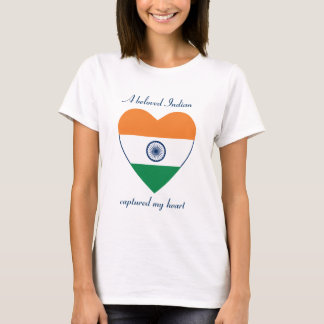 India Flag Sweetheart T-Shirt