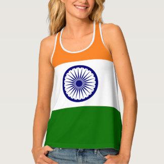 India Flag Tank Top