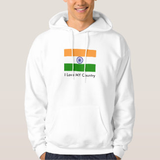 India Flag The MUSEUM Zazzle I Love MY Country Pullover