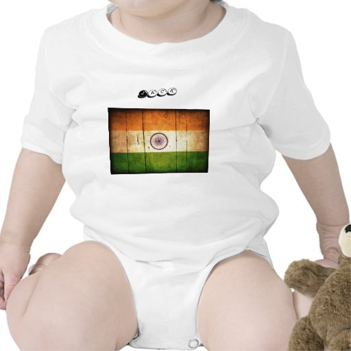 India Flag Rompers
