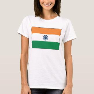 India Flag x Map T-Shirt