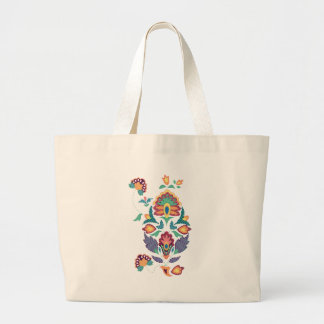 India flower canvas bags