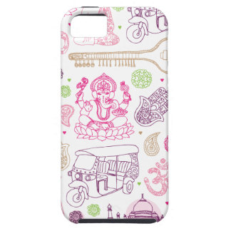 India ganesha yoga art iphone case iPhone 5 case