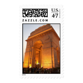 India Gate - Monument of India night view Postage