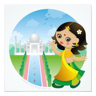 India girl card