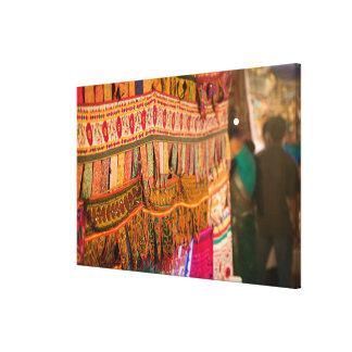 INDIA, Goa, Baga: Saturday Evening Market (NR) Stretched Canvas Prints