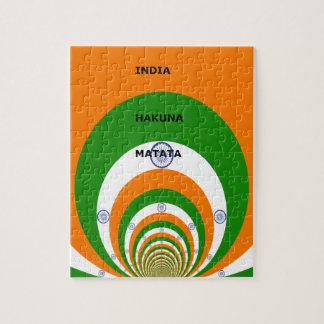 India HAKUNA MATATA Jigsaw Puzzle