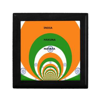 India HAKUNA MATATA Keepsake Box