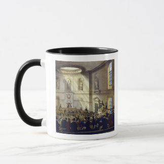 India House, The Sale Room, from 'Ackermann's Micr Mug